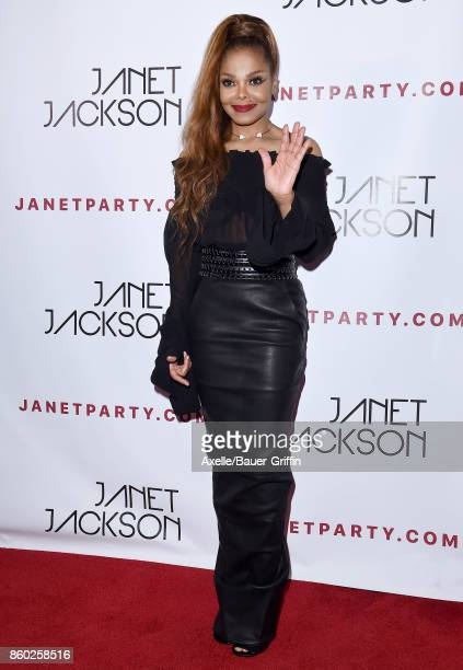Recording artist Janet Jackson attends her State of the World Tour after party at Lure on October 8 2017 in Los Angeles California