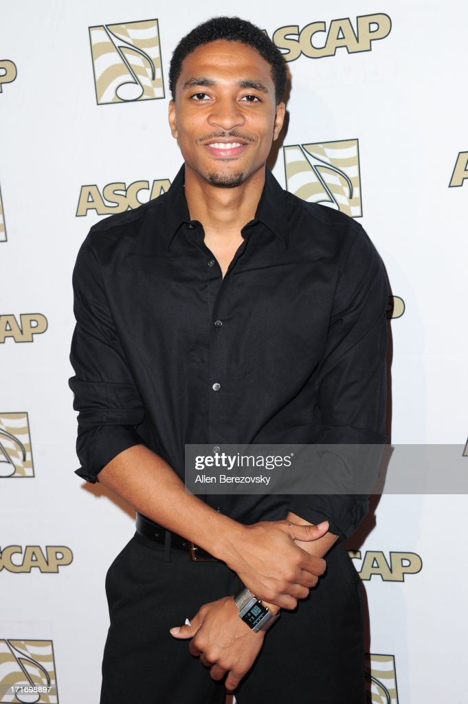 Recording artist Jarvis arrives at ASCAP's 26th Annual Rhythm & Soul Music Awards at The Beverly Hilton Hotel on June 27, 2013 in Beverly Hills, California.