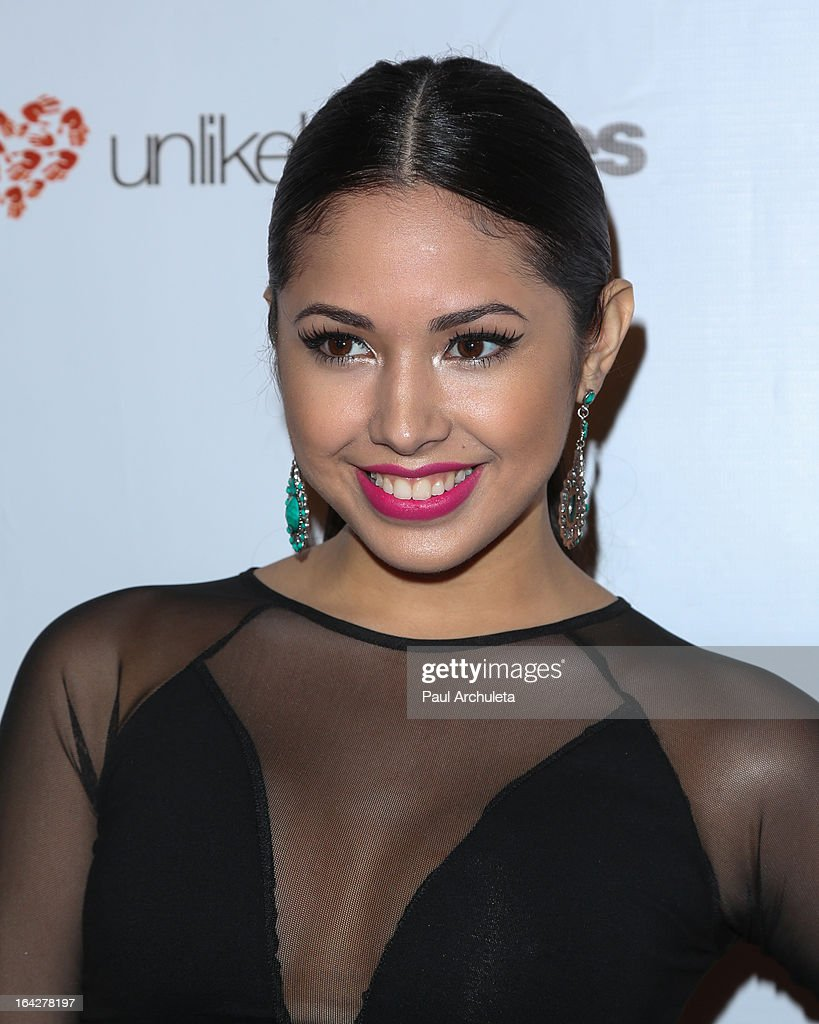 Recording Artist Jasmine Villegas attends the 'Love Is Heroic' - The Unlikely Heroes annual spring benefit at the W Hollywood on March 21, 2013 in Hollywood, California.