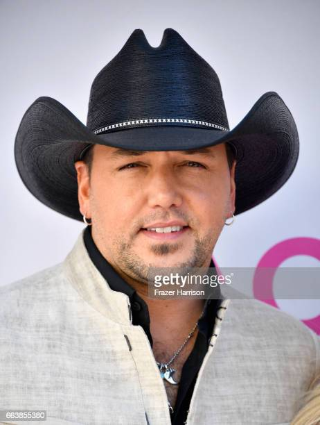 Recording artist Jason Aldean attends the 52nd Academy Of Country Music Awards at Toshiba Plaza on April 2 2017 in Las Vegas Nevada