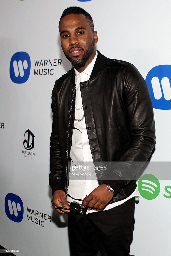 Recording artist Jason Derulo attends the Warner Music Group annual Grammy celebration at Chateau Marmont on February 8, 2015 in Los Angeles, California.