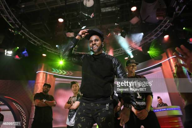 Recording artist Jason Derulo performs during 106 Park at BET studio on January 30 2014 in New York City