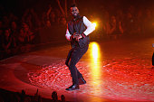 Recording artist Jason Derulo performs onstage at the iHeartRadio Music Awards which broadcasted live on TBS TNT AND TRUTV from The Forum on April 3...