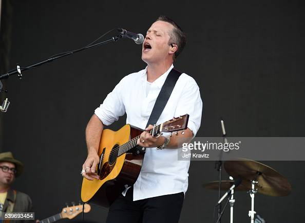 Recording artist Jason Isbell performs onstage at What Stage during Day 4 of the 2016 Bonnaroo Arts And Music Festival on June 9 2016 in Manchester...