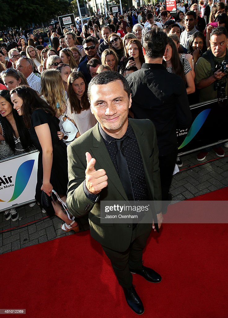 Recording artist Jason Kerrison arrives at the New Zealand Music Awards at Vector Arena on November 21, 2013 in Auckland, New Zealand.