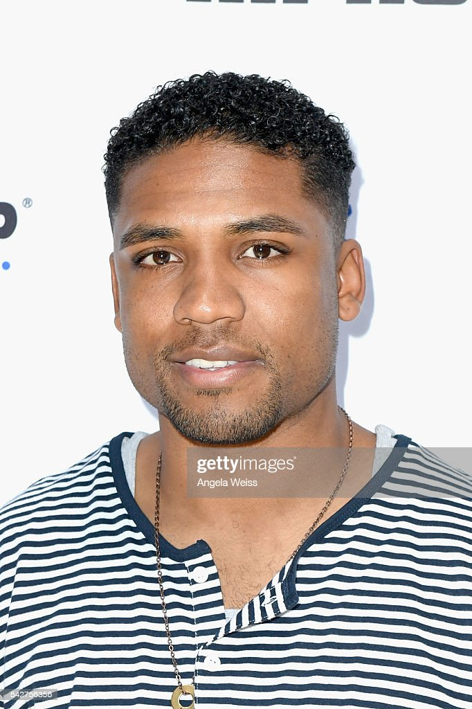 Recording artist Jay Blaze attends Next Level Presented By AMP Energy A Hip Hop Gaming Tournament at Rostrum Records on June 23 2016 in Los Angeles...