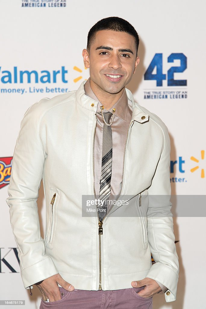 Recording artist Jay Sean attends the '42' event honoring the legacy of Jackie Robinson at the Brooklyn Academy of Music on March 25, 2013 in New York City.