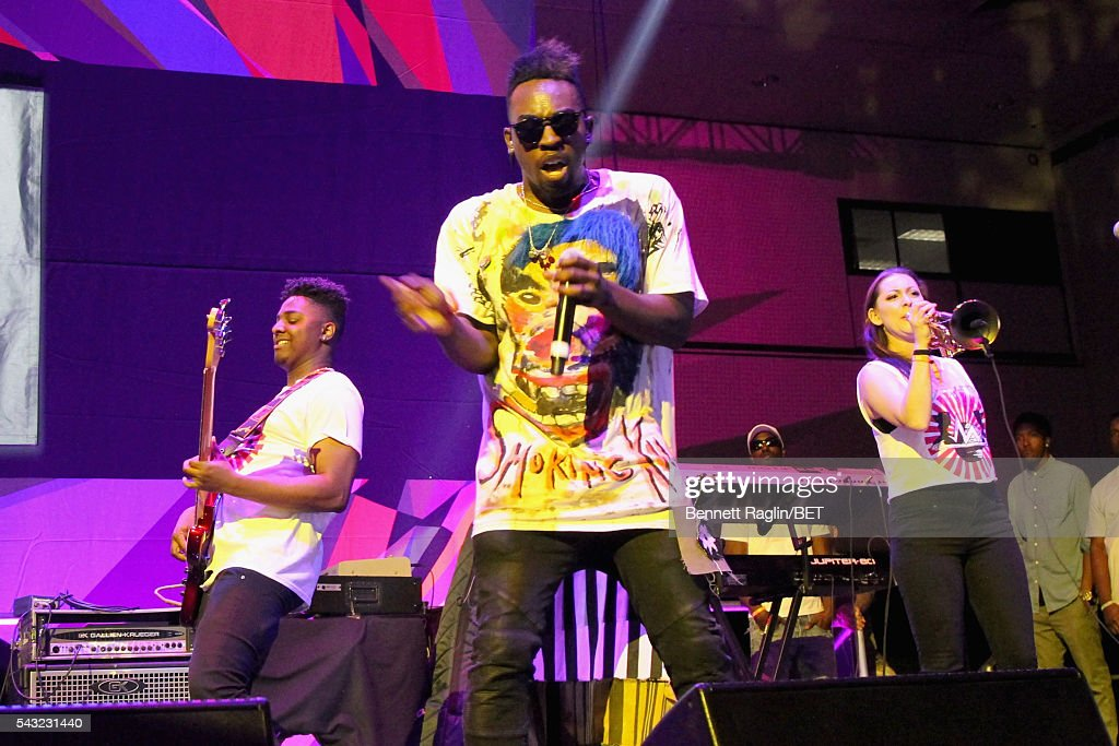 Recording artist Jay Watts performs on the BETX stage during the 2016 BET Experience on June 26, 2016 in Los Angeles, California.