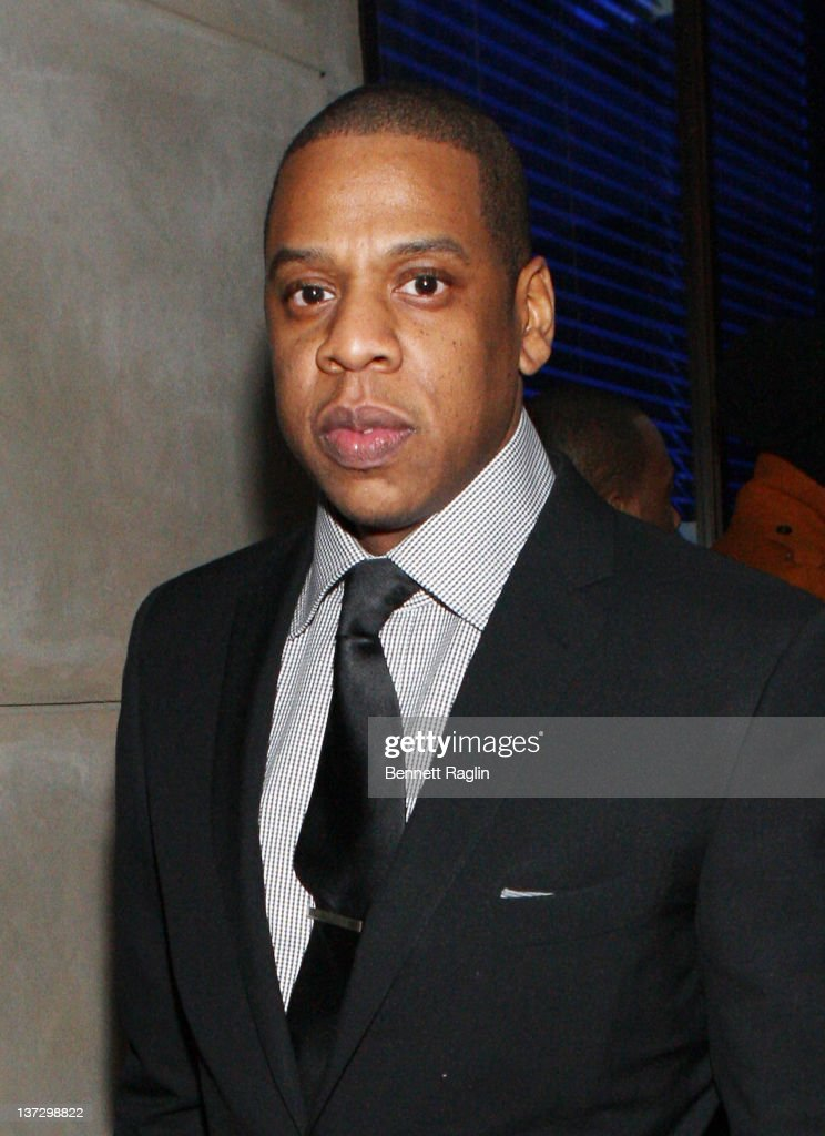 Recording artist Jay-Z attends the grand re-opening of Jay-Z's 40/40 Club on January 18, 2012 in New York City.
