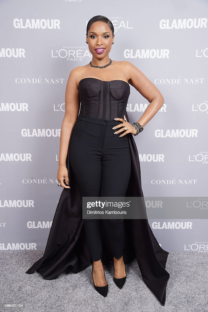 Recording artist <a gi-track='captionPersonalityLinkClicked' href=/galleries/search?phrase=Jennifer+Hudson&family=editorial&specificpeople=234833 ng-click='$event.stopPropagation()'>Jennifer Hudson</a> attends the 2015 Glamour Women Of The Year Awards at Carnegie Hall on November 9, 2015 in New York City.
