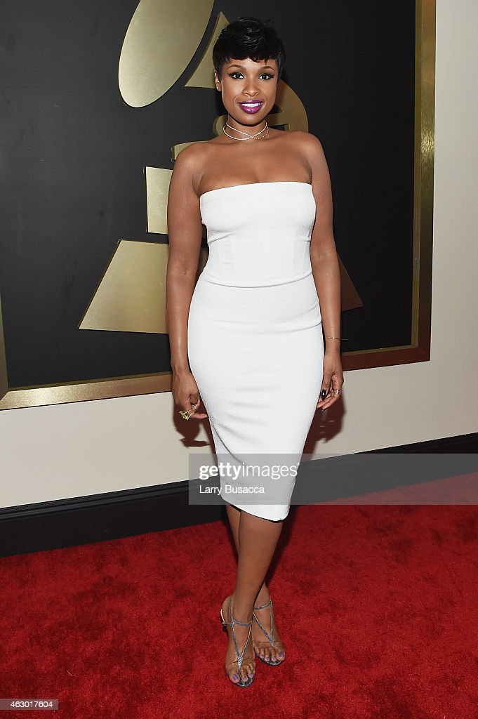 Recording Artist Jennifer Hudson attends The 57th Annual GRAMMY Awards at the STAPLES Center on February 8 2015 in Los Angeles California