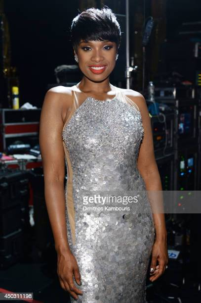 Recording artist Jennifer Hudson attends the 68th Annual Tony Awards at Radio City Music Hall on June 8 2014 in New York City