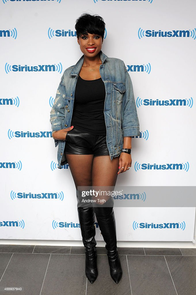 Recording artist Jennifer Hudson visits SiriusXM Studios on September 22 2014 in New York City