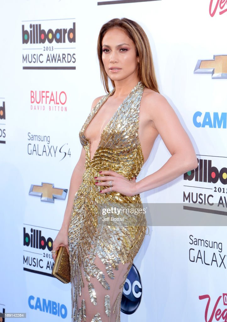 Recording Artist <a gi-track='captionPersonalityLinkClicked' href=/galleries/search?phrase=Jennifer+Lopez&family=editorial&specificpeople=201784 ng-click='$event.stopPropagation()'>Jennifer Lopez</a> arrives at the 2013 Billboard Music Awards at the MGM Grand Garden Arena on May 19, 2013 in Las Vegas, Nevada.