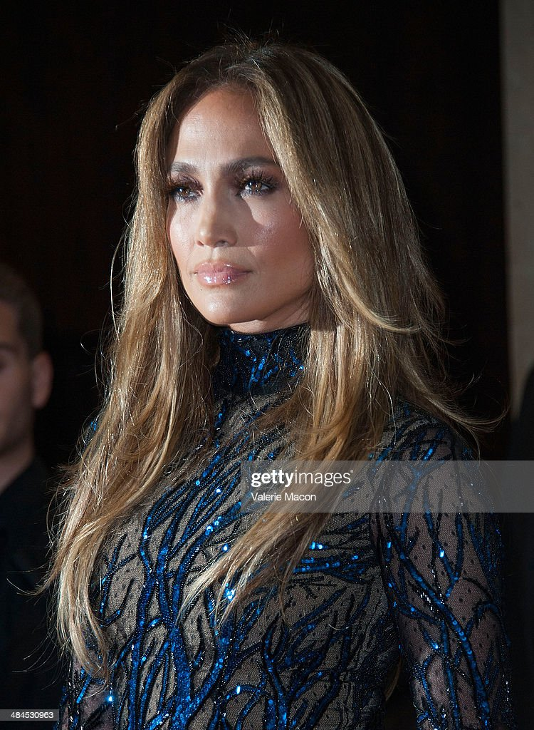 Recording artist <a gi-track='captionPersonalityLinkClicked' href=/galleries/search?phrase=Jennifer+Lopez&family=editorial&specificpeople=201784 ng-click='$event.stopPropagation()'>Jennifer Lopez</a> arrives at the 25th Annual GLAAD Media Awards at The Beverly Hilton Hotel on April 12, 2014 in Beverly Hills, California.