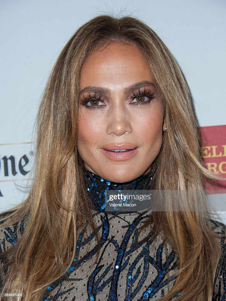 Recording artist Jennifer Lopez arrives at the 25th Annual GLAAD Media Awards at The Beverly Hilton Hotel on April 12, 2014 in Beverly Hills, California.