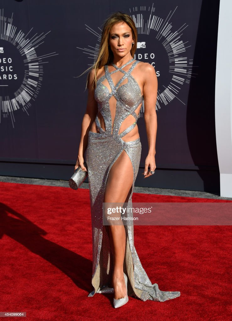 Recording artist <a gi-track='captionPersonalityLinkClicked' href=/galleries/search?phrase=Jennifer+Lopez&family=editorial&specificpeople=201784 ng-click='$event.stopPropagation()'>Jennifer Lopez</a> attends the 2014 MTV Video Music Awards at The Forum on August 24, 2014 in Inglewood, California.