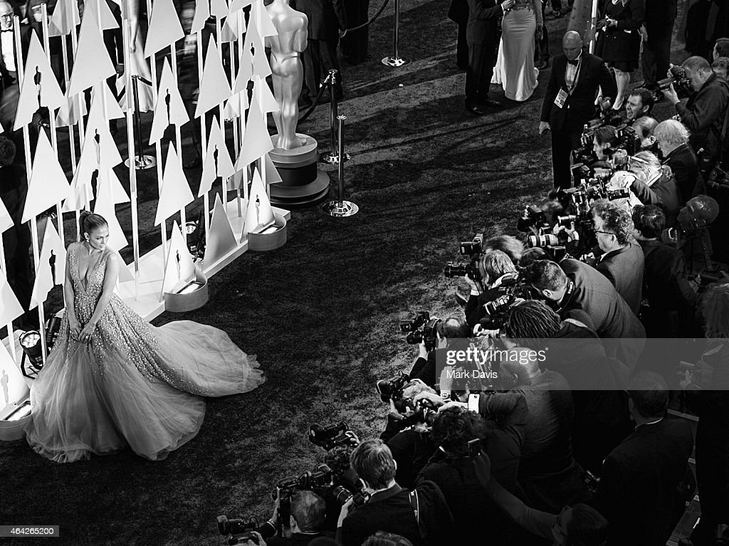 Recording artist Jennifer Lopez attends the 87th Annual Academy Awards at Hollywood & Highland Center on February 22, 2015 in Hollywood, California