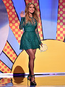 Recording artist Jennifer Lopez onstage during FOX's 2014 Teen Choice Awards at The Shrine Auditorium on August 10 2014 in Los Angeles California
