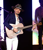 Recording artist Jesse Huerta of music group Jesse y Joy performs onstage during the 2015 Latin GRAMMY Person of the Year honoring Roberto Carlos at...