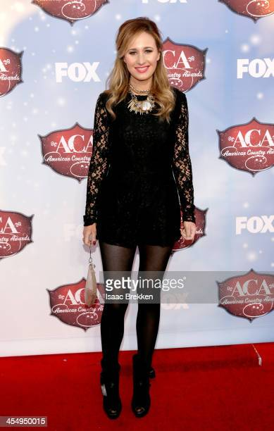 Recording artist Jessi Alexander arrives at the American Country Awards 2013 at the Mandalay Bay Events Center on December 10 2013 in Las Vegas Nevada