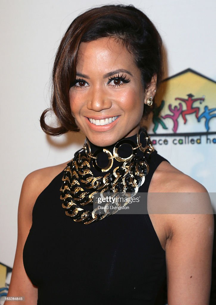 Recording artist Jessi Malay attends the 7th Annual 'Stars & Strikes' Celebrity Bowling and Poker Tournament benefiting A Place Called Home at PINZ Bowling & Entertainment Center on March 6, 2013 in Studio City, California.