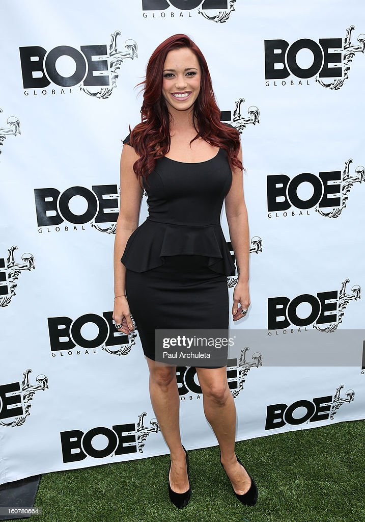 Recording Artist Jessica Sutta attends the 1st Annual Grammy Producers Brunch at Xen Lounge on February 5, 2013 in Los Angeles, California.