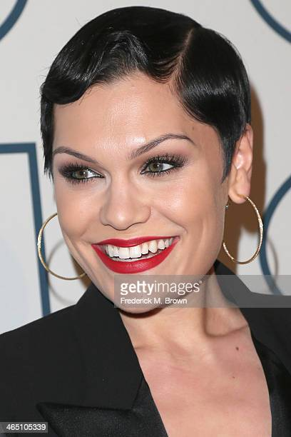 Recording Artist Jessie J attends the 56th annual GRAMMY Awards PreGRAMMY Gala and Salute to Industry Icons honoring Lucian Grainge at The Beverly...