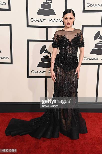Recording artist Jessie J attends The 57th Annual GRAMMY Awards at the STAPLES Center on February 8 2015 in Los Angeles California