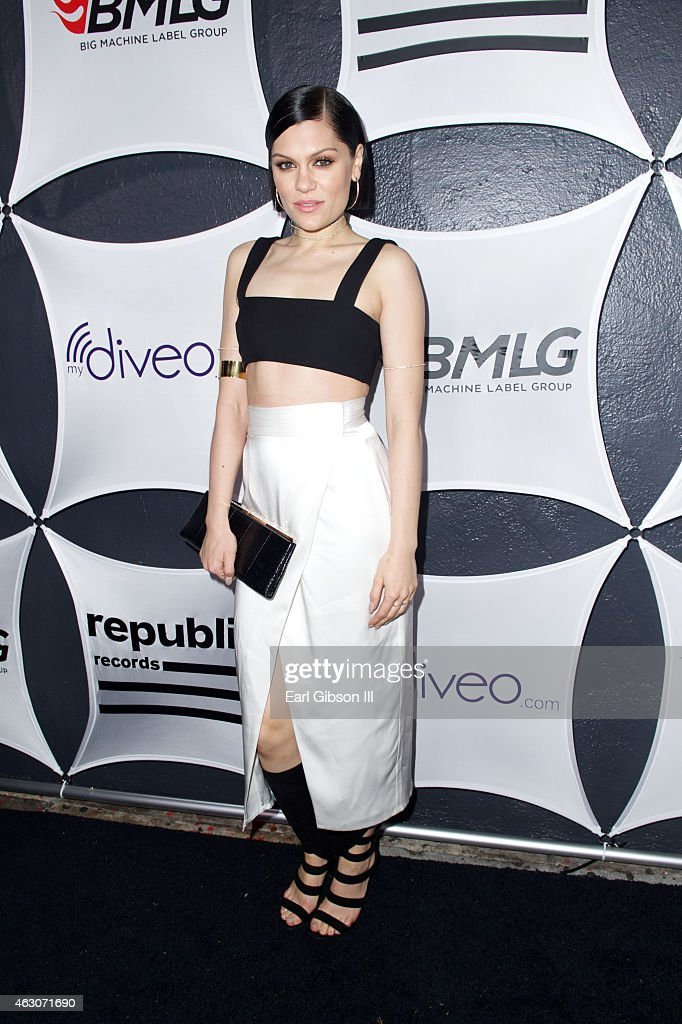 Recording Artist <a gi-track='captionPersonalityLinkClicked' href=/galleries/search?phrase=Jessie+J&family=editorial&specificpeople=5737661 ng-click='$event.stopPropagation()'>Jessie J</a> attends the Republic Records and Big Machine Label Group's Grammy Celebration at Warwick on February 8, 2015 in Los Angeles, California.