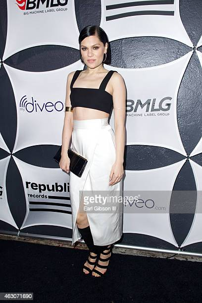 Recording Artist Jessie J attends the Republic Records and Big Machine Label Group's Grammy Celebration at Warwick on February 8 2015 in Los Angeles...
