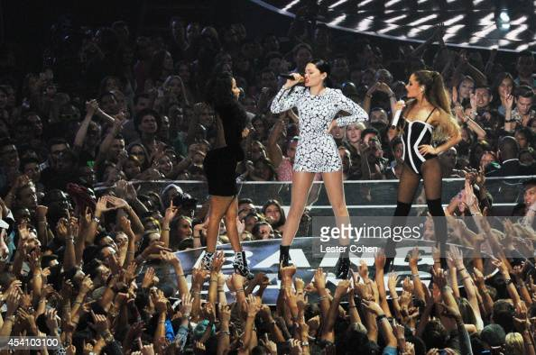 Recording artist Jessie J performs onstage during the 2014 MTV Video Music Awards at The Forum on August 24 2014 in Inglewood California