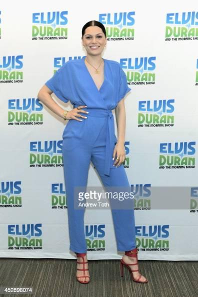 Recording artist Jessie J visits Z100 Studio on July 29 2014 in New York City