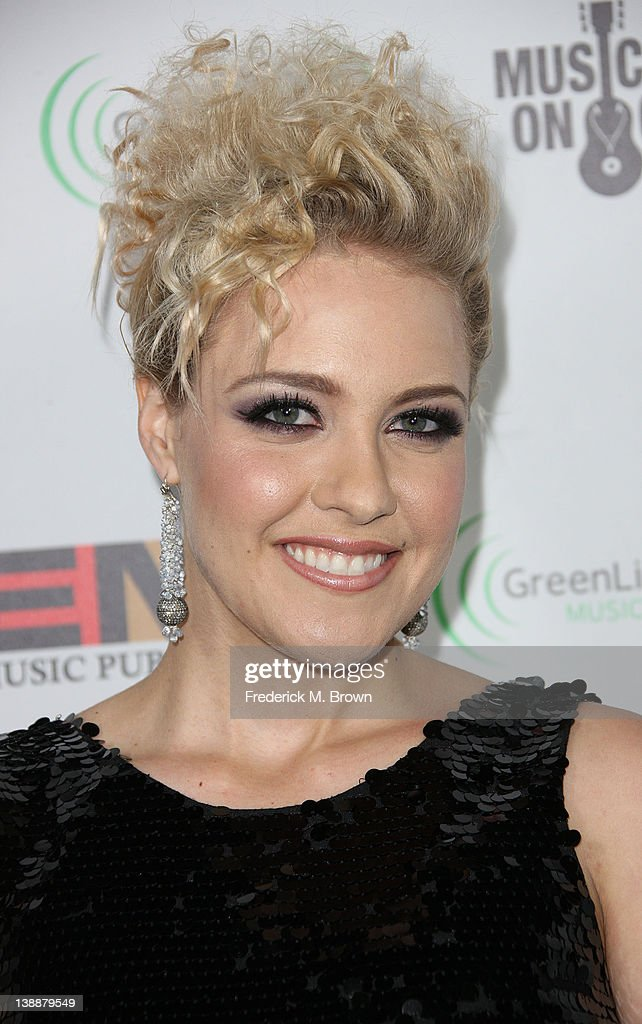 Recording artist Jessie Malakout attends the EMI GRAMMY After Party at the Capital Records Building on February 12, 2012 in Hollywood, California.