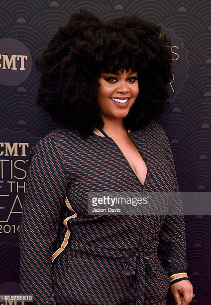 Recording Artist Jill Scott arrives at 2016 CMT Artists Of The Year at Schermerhorn Symphony Center on October 19 2016 in Nashville Tennessee