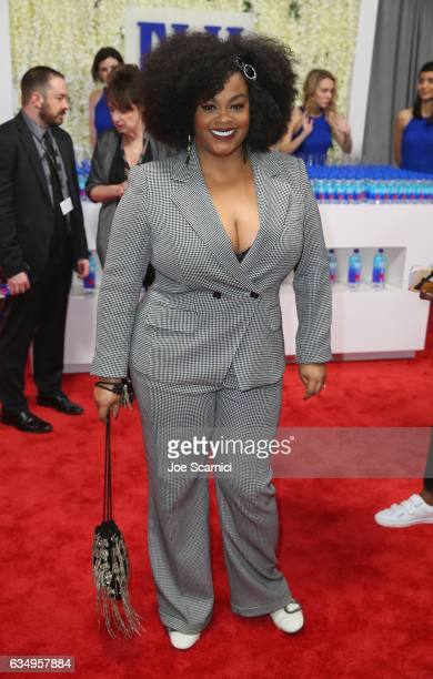 Recording artist Jill Scott at The 59th Annual GRAMMY Awards at STAPLES Center on February 12 2017 in Los Angeles California