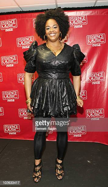 Recording artist Jill Scott attends the 2010 Essence Music Festival at the Louisiana Superdome on July 4 2010 in New Orleans Louisiana