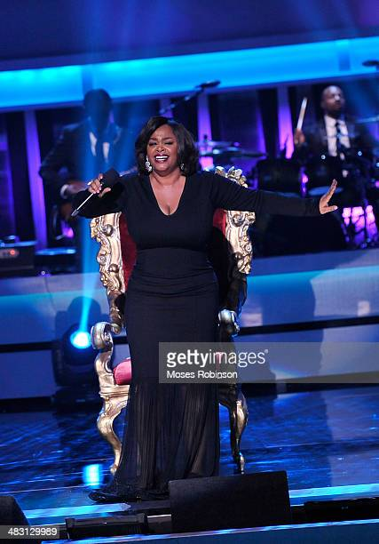 Recording Artist Jill Scott attends UNCF's 33rd annual An Evening With The Stars at Boisfeuillet Jones Atlanta Civic Center on April 6 2014 in...