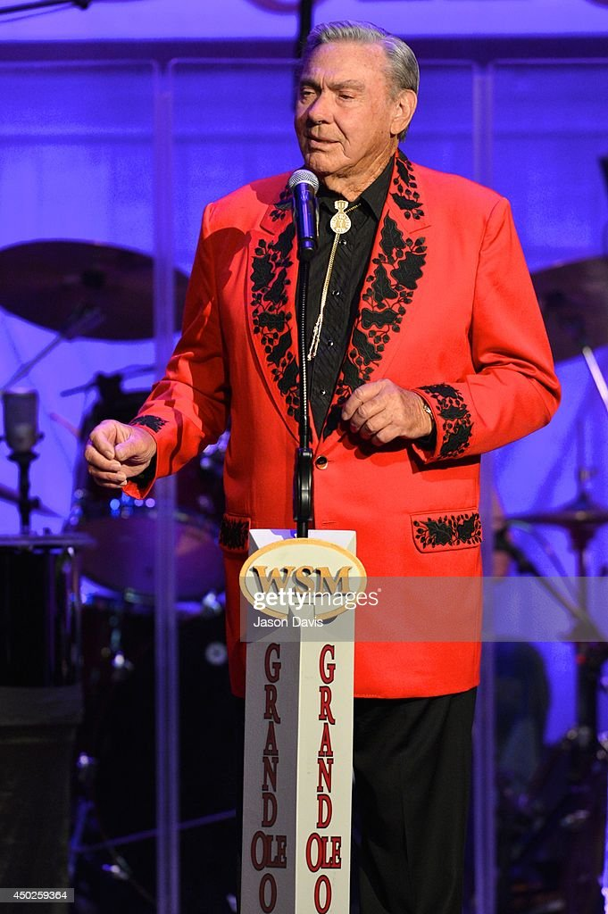 Recording Artist Jim Ed Brown performs at The Grand Ole Opry on June 7, 2014 in Nashville, Tennessee. (Photo by Jason Davis/Getty Images)Images)