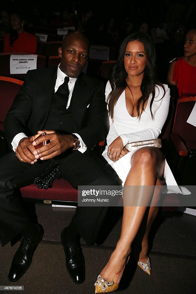 Recording artist Joe and media personality Rocsi Diaz attend the 2015 WEEN Awards at The Schomburg Center for Research in Black Culture on November...
