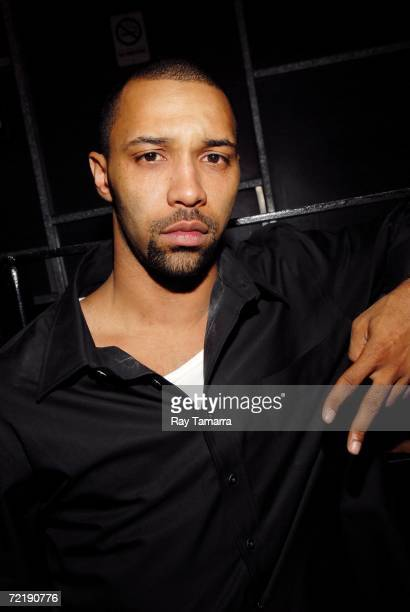 Recording artist Joe Budden attends Diddy's Vibe Magazine Cover Celebration and 'Press Play' Album Release Party at Crobar October 16 2006 in New...
