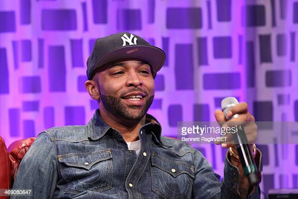 Recording artist Joe Budden visits 106 Park at BET studio on February 11 2014 in New York City
