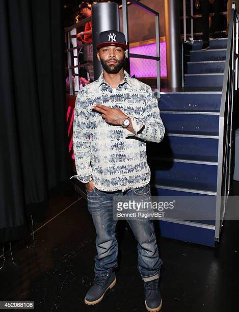 Recording artist Joe Budden visits 106 Park at BET studio on July 9 2014 in New York City