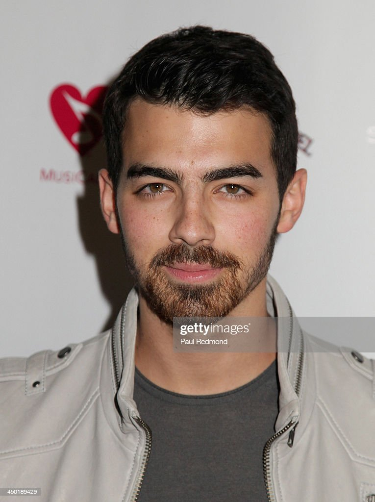 Recording artist <a gi-track='captionPersonalityLinkClicked' href=/galleries/search?phrase=Joe+Jonas&family=editorial&specificpeople=842712 ng-click='$event.stopPropagation()'>Joe Jonas</a> attends Sunset Marquis Hotel 50th Anniversary Birthday Bash at Sunset Marquis Hotel & Villas on November 16, 2013 in West Hollywood, California.
