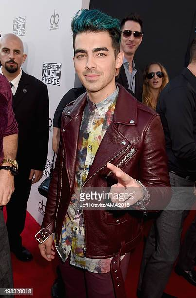 Recording artist Joe Jonas attends the 2015 American Music Awards at Microsoft Theater on November 22 2015 in Los Angeles California