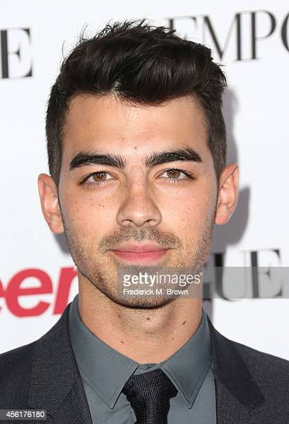 Recording artist Joe Jonas attends the Teen Vogue Young Hollywood Party on September 26 2014 in Los Angeles California
