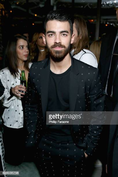 Recording artist Joe Jonas of DNCE at a celebration of music with Republic Records in partnership with Absolut and Pryma at Catch LA on February 12...