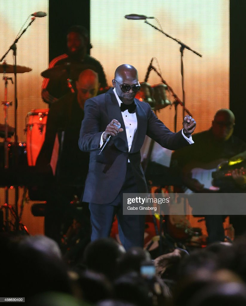 Recording artist Joe performs onstage during the 2014 Soul Train Music Awards at the Orleans Areana on November 7 2014 in Las Vegas Nevada