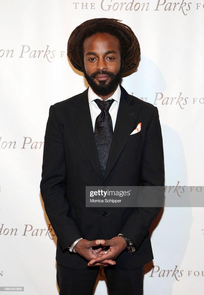 Recording artist John Forte attends 2014 Gordon Parks Foundation awards dinner at Cipriani Wall Street on June 3, 2014 in New York City.
