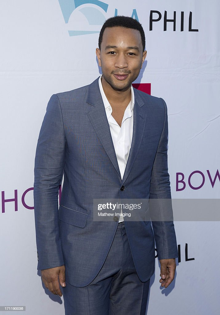 Recording artist <a gi-track='captionPersonalityLinkClicked' href=/galleries/search?phrase=John+Legend&family=editorial&specificpeople=201468 ng-click='$event.stopPropagation()'>John Legend</a> attends Hollywood Bowl Opening Night Gala - Arrivals at The Hollywood Bowl on June 22, 2013 in Los Angeles, California.